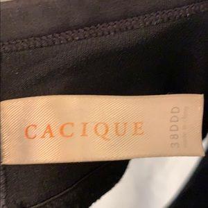 Cacique Intimates & Sleepwear - Cacique black plunge bra